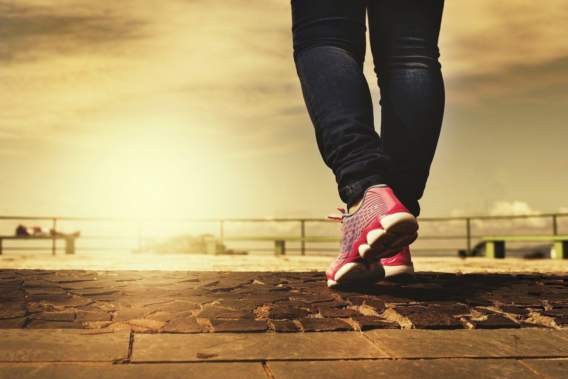 Compreender os principais benefícios de saúde da caminhada