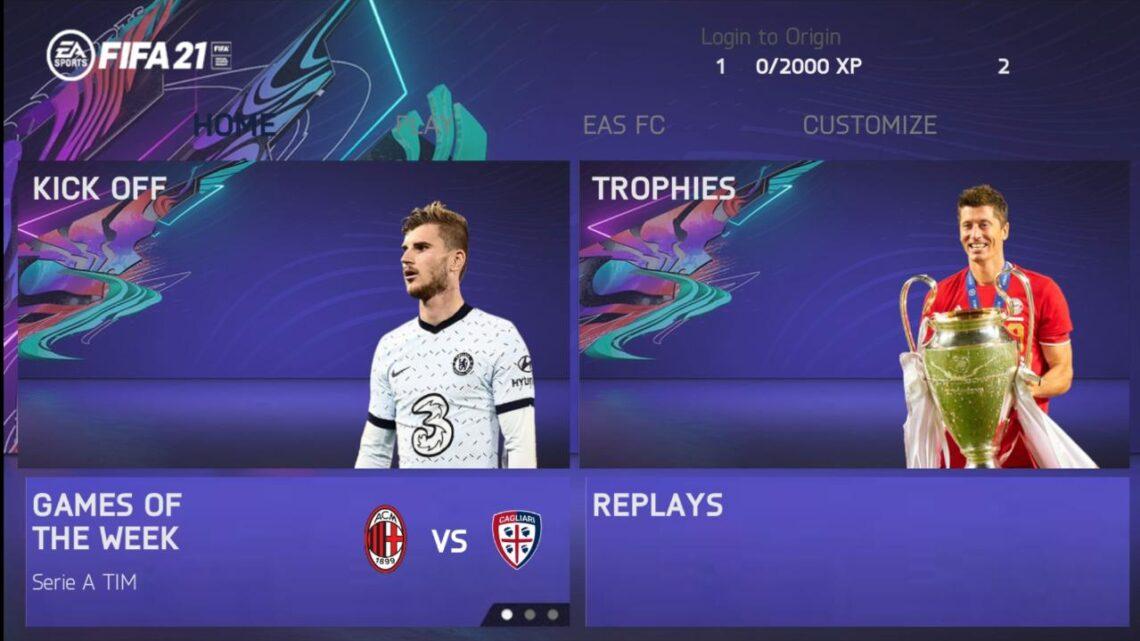 NOVO ! FIFA 2021 Atualizado e Com MODO CARREIRA Para Android