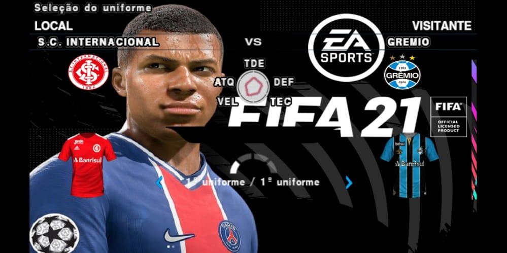 FIFA 21 OFFLINE COM NARRAÇÃO BRASILEIRA PARA ANDROID
