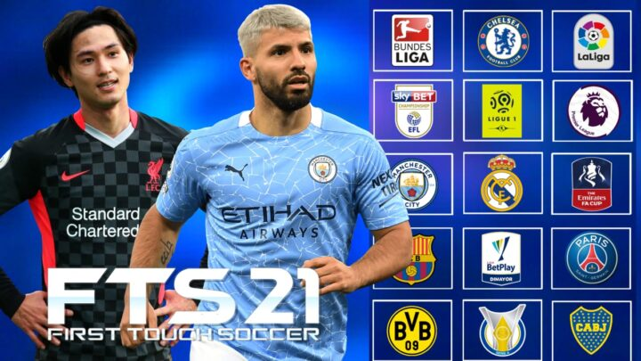 SERÁ A MELHOR VERSÃO ? Novo FTS/FIFA Com Todas As Ligas Atualizadas 2021
