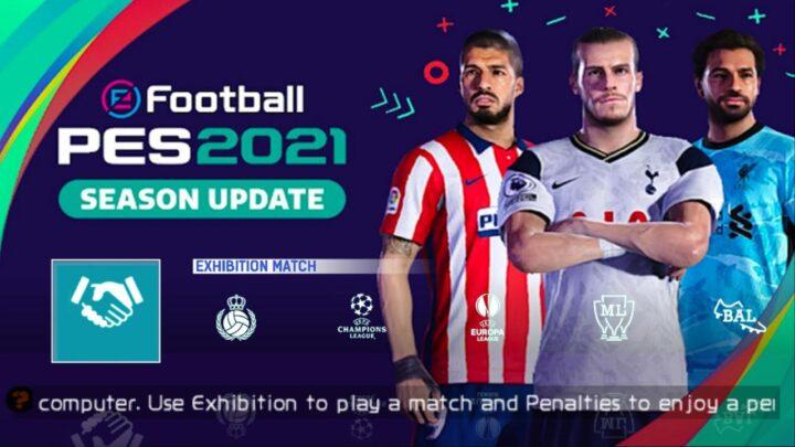 SAIU ! Novo PES 2021 Com Torneios Realistas e Clubes Atuais