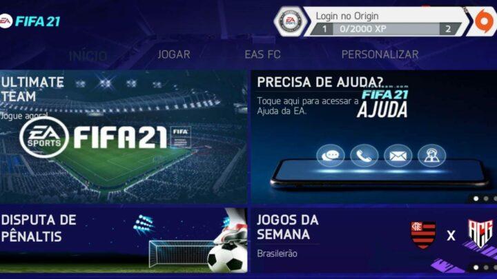 ATUALIZOU AGORA ! NOVO FIFA 2021 COM MODO CARREIRA SEM BUG