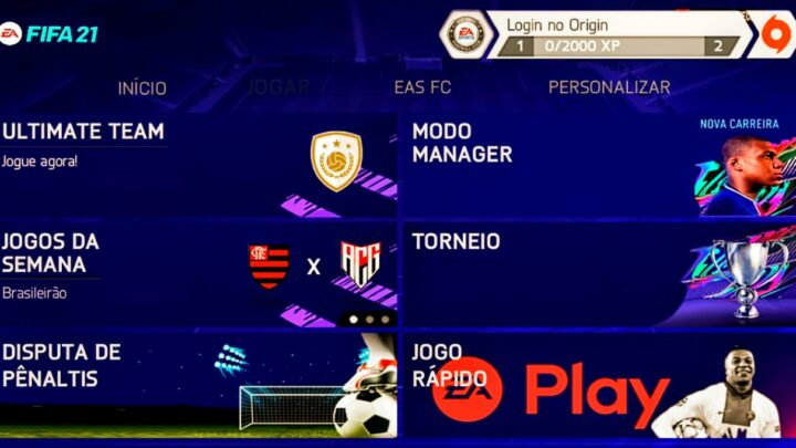 NOVO FIFA 2021 COM PROJETO 1.1.0 PARA ANDROID