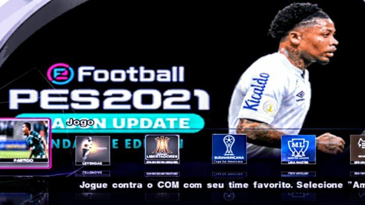 SAIU ! NOVO EFOOTBALL PES 2021 LIBERTADORES DA AMÉRICA ATUALIZADO