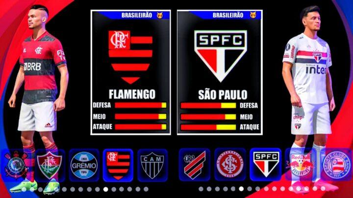 LANÇOU 2021 ! NOVO EFOOTBALL LITE PARA ANDROID COM BRASILEIRÃO